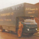 Commer at Winsford 1968 with Michael Parsons (OLB 430E)