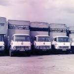 Lorries parked at Walthamstow ? 1970s
