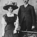 Sissy Lewis's parents c.1914