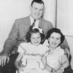 Sissy Lewis with husband, Tom and daughter, Christine 1954