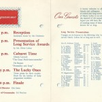 Reunion invitation from 1966