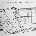 Sketch plan of Finsbury Works
