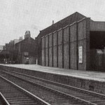 Tottenham station ? goods yard to the right
