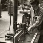 Kenneth Scott worked at Lebus from leaving school until the late 1960s. His final position was as manager of the machine shop having taken over from Stanley Bright