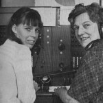 Lebus switchboard operators 1968 ? Pat Bailey and Freda Halberg