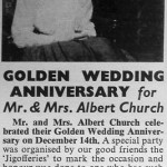 Albert Church ? article from the ?Lebus Log' ? December 1962