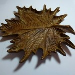 Fantastic carvings of leaves by Albert Church