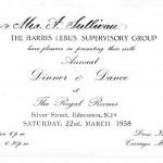 Dinner & Dance 1958