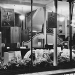 Wards department store selling Lebus furniture and advertising the upcoming Festival of Britain in 1951