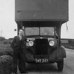 Another of the van drivers (not a Lebus vehicle)