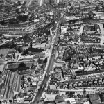 The High Road and environs, Tottenham, 1938.