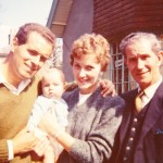 Terry, Paul, Maysie and Harold Mitchell, 1961
