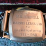 Gold watch presented to Lebus employees after many years of service