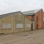 Recent picture of the old Woodley factory buildings